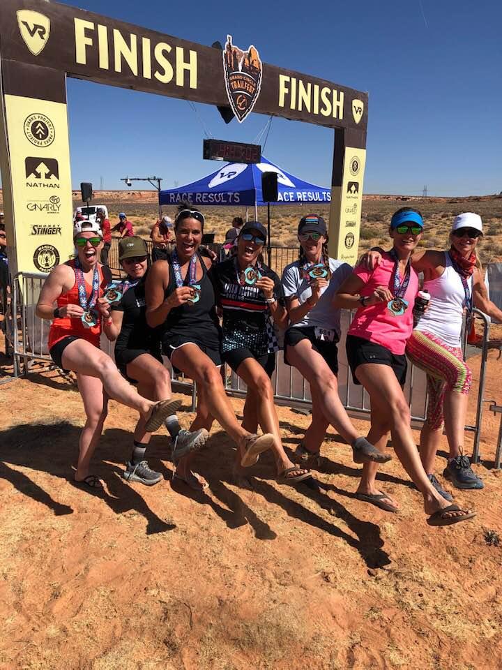 7 women. 40 miles. 3 days.