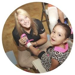 Tracie: Co-founder of Samaritan's Feet International