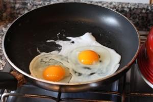 Skillet-eggs