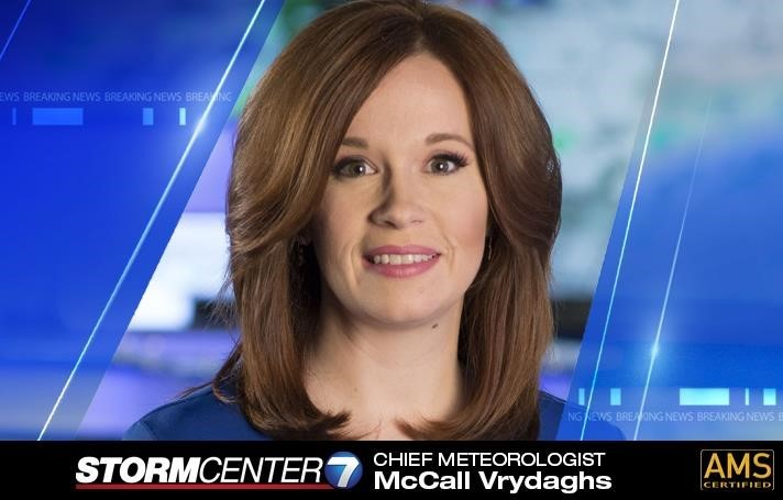 WHIO-TV News Center 7 names McCall Vrydaghs to Chief Meteorologist