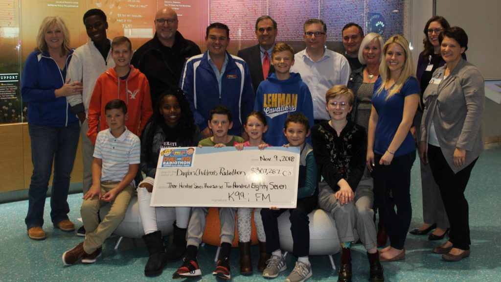 K99.1FM Raises over $300,000 for Dayton Children's Hospital during annual Radiothon