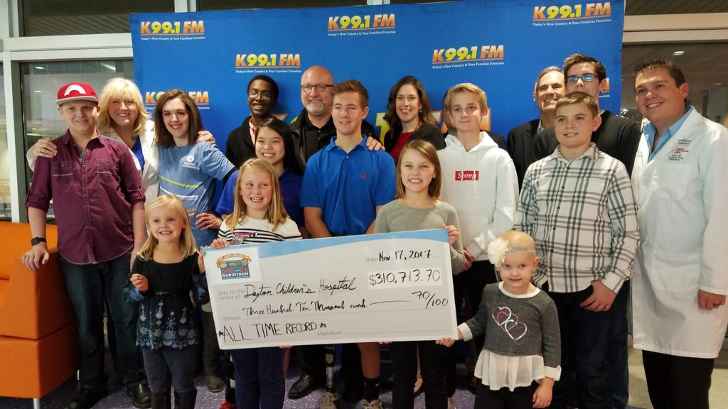 K99.1FM Wins National Children's Miracle Network Station of the Year!