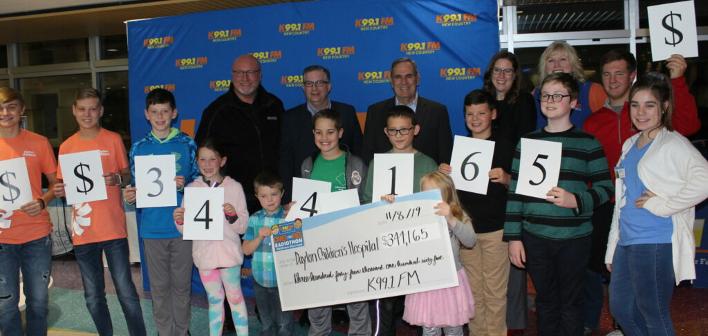 K99.1FM raises over $344,165 for Dayton Children's Hospital