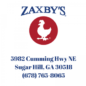 Zaxbys Sugar Hill