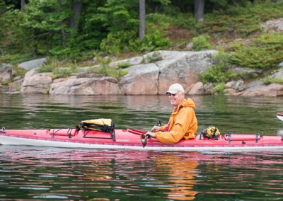 Kayaking Sted Garber