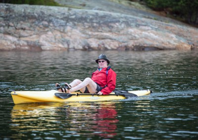 Kayaking Tom McConnell_