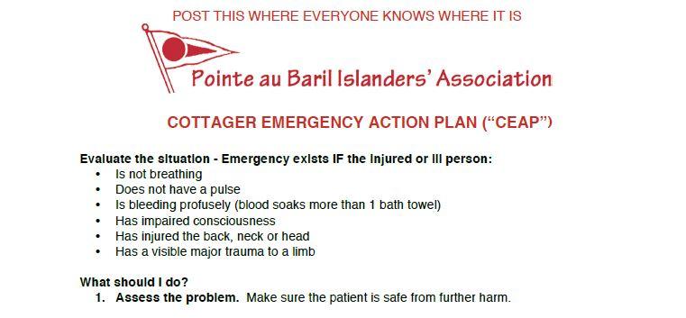 Emergency Action Plan