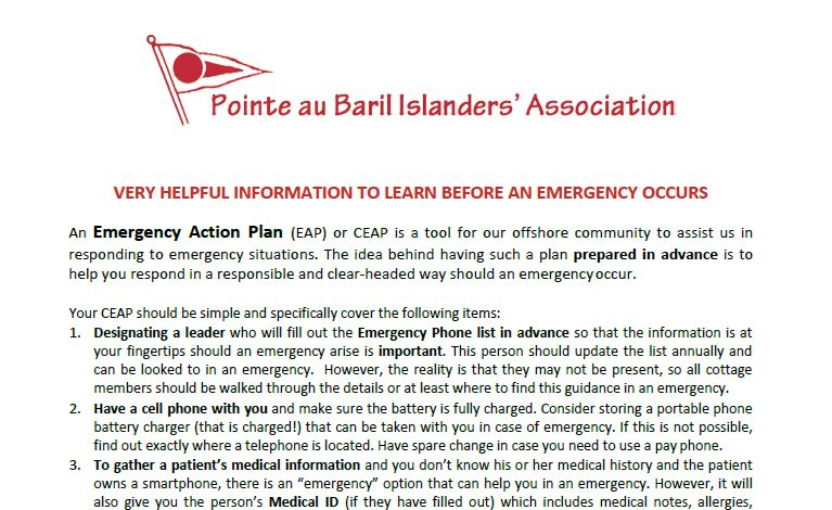 Very Helpful Information to Learn Before an Emergency Occurs