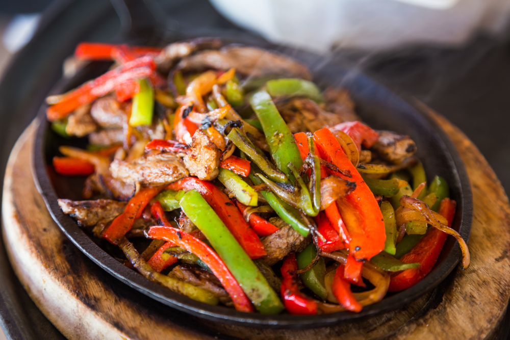 Sizzling Beef in Black Bean Sauce