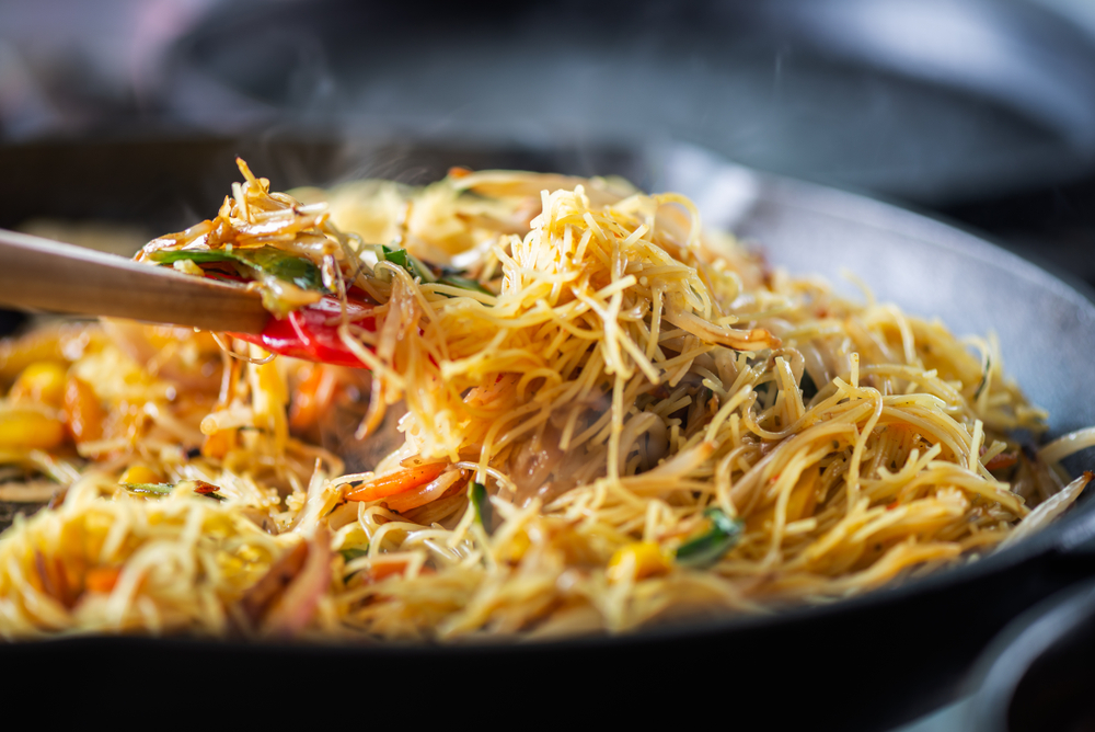 Singapore Fried Rice Noodle