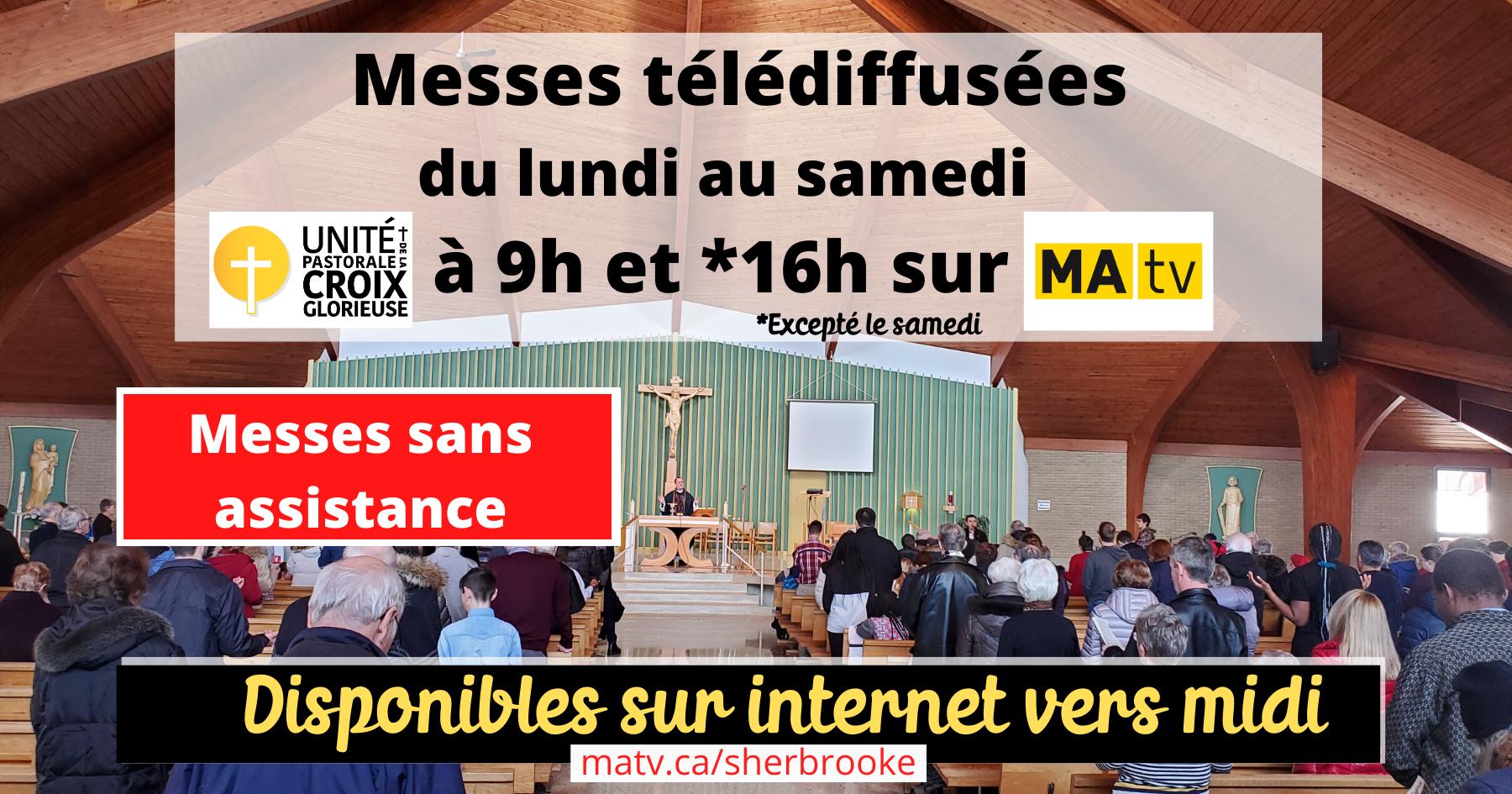 Messe sans assistance internet