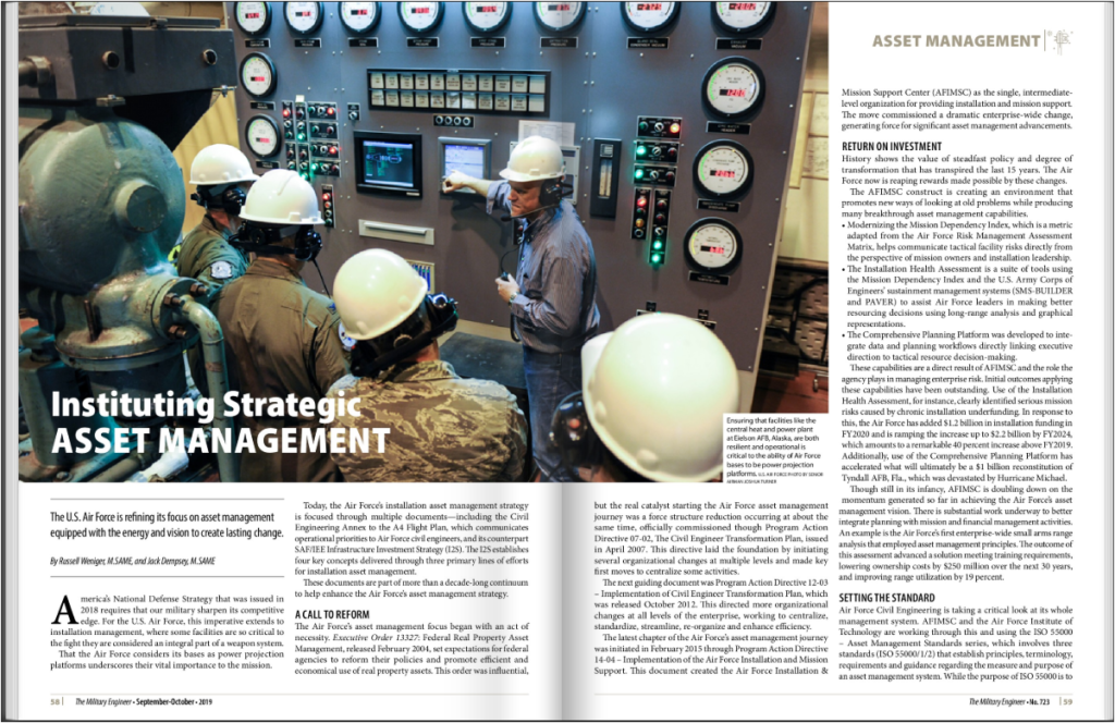 USAF Vision for Strategic Asset Management