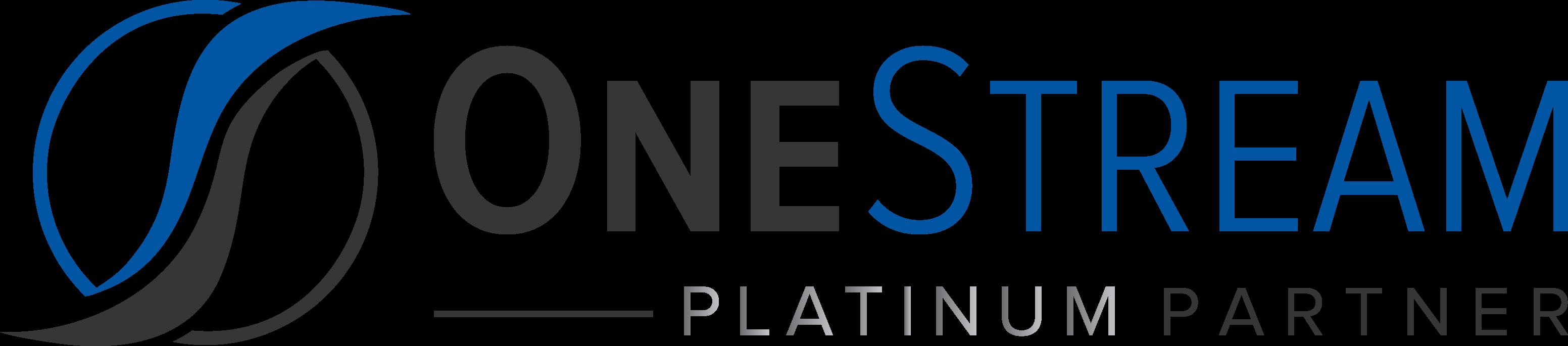 Onestream Platinum Level Partner