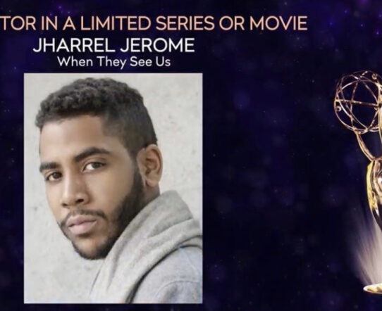 Jharrell Jones becomes youngest person to win Emmy award