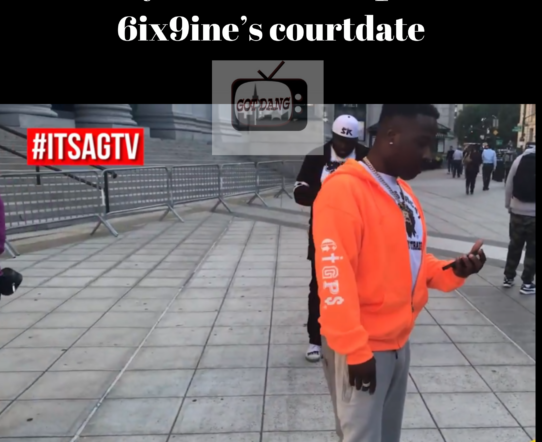 Troy ave attended 6ix9ine court date for a close friend ❗️