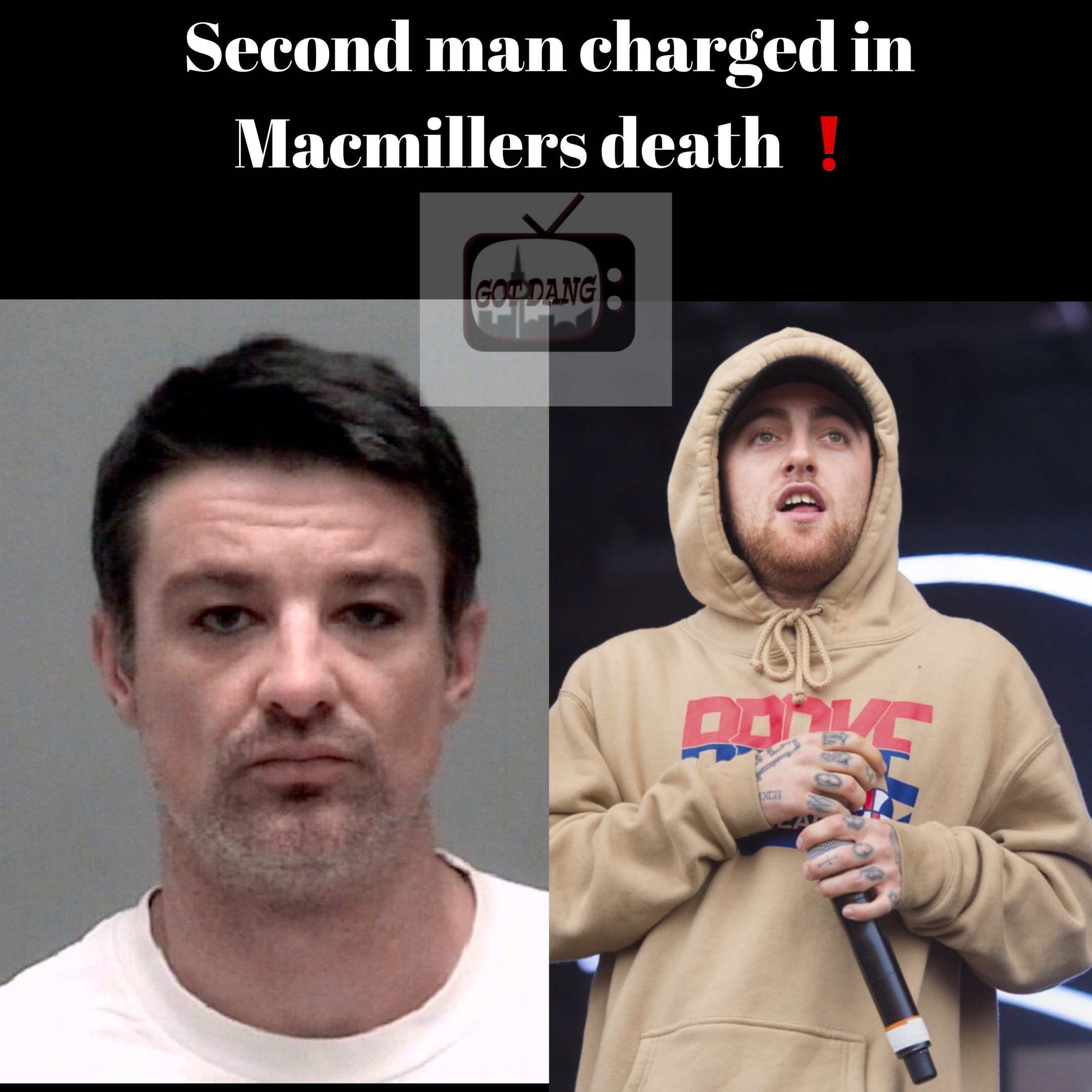 A second man has been charged in Mac millers death