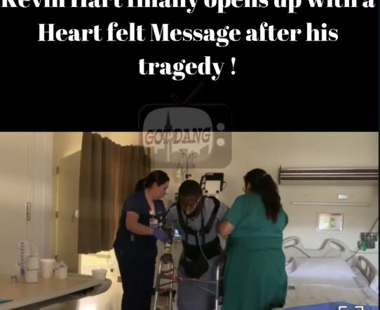Kevin Hart Opens up with a heartfelt message after his tragic accident