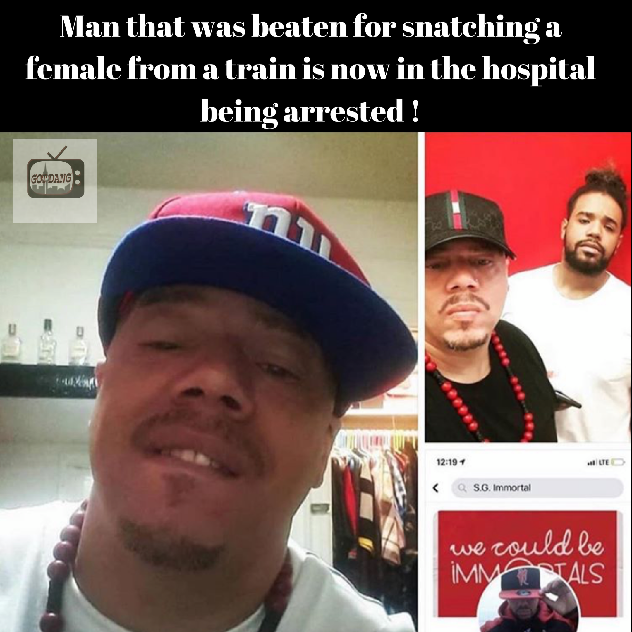 Guy who was beat for trying to snatch a female going to jail