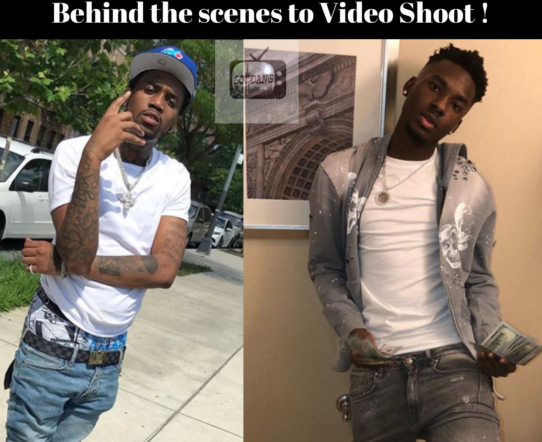 Smoove L , Fivio Foreign , & Casanova Shooting Video