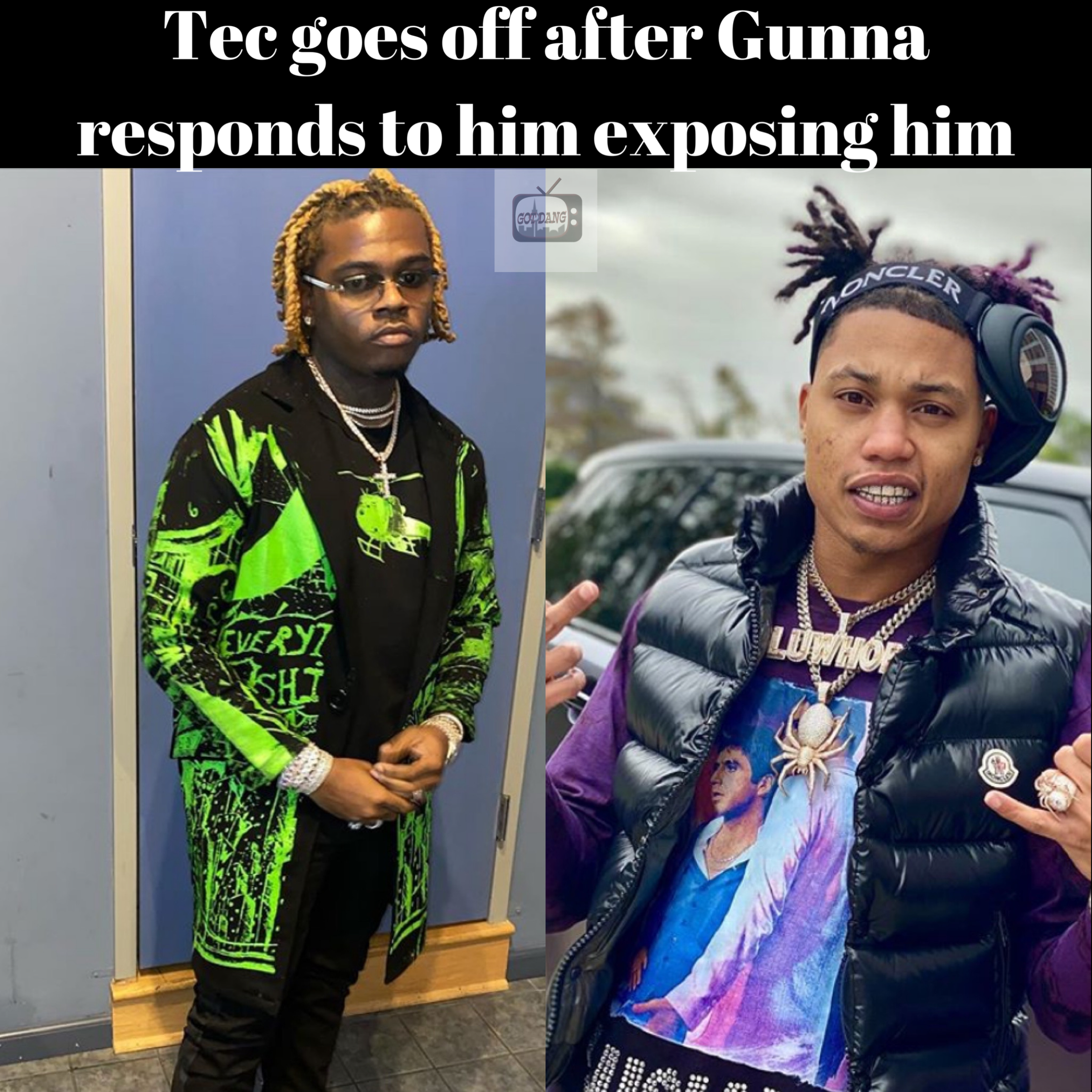 Tec responds to Gunna & says who ever wears purses will get robbed !