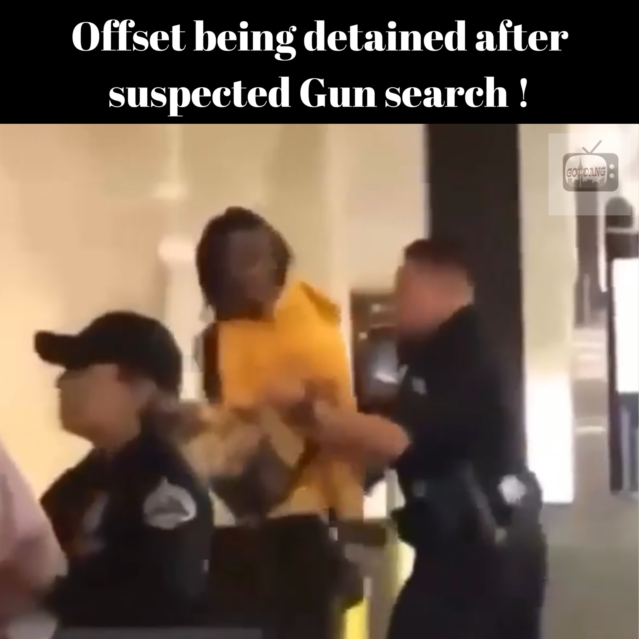 Offset was detained in L.A Mall after suspected gun possession
