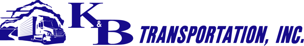 K&B Transportation horizontal full color logo