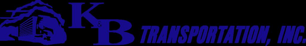 K&B Transportation horizontal full color logo