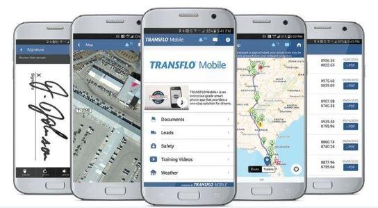 Transflo Mobile+ app