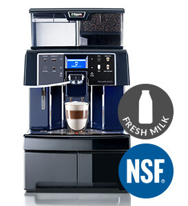 Saeco Aulika Evo NSF Brewer With Fresh Milk