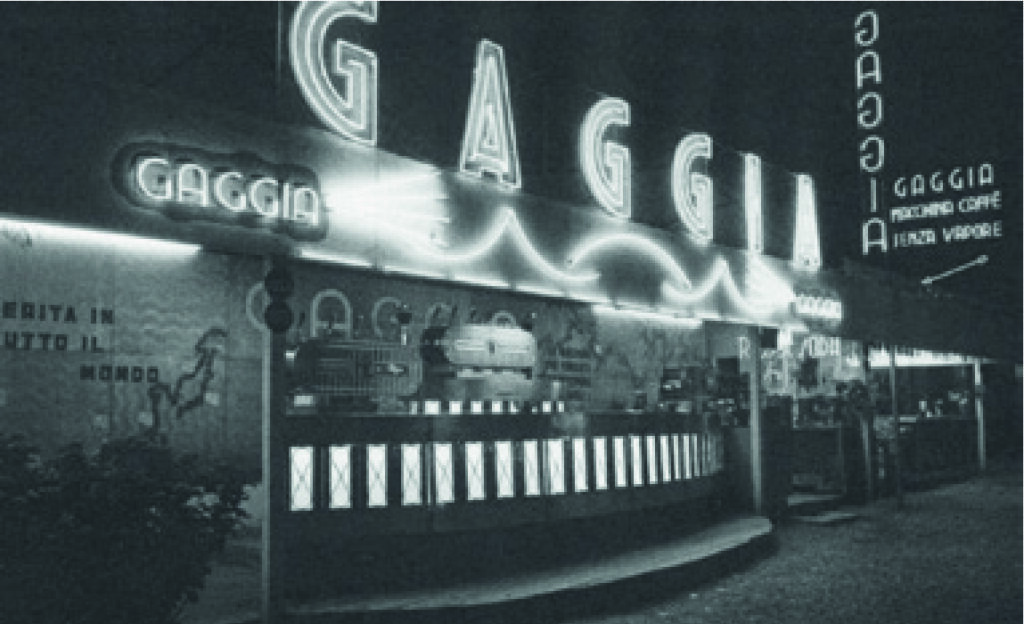 Gaggia - Photo historique