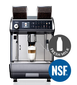 Saeco Idea Restyle Duo NSF Brewer With Fresh Milk