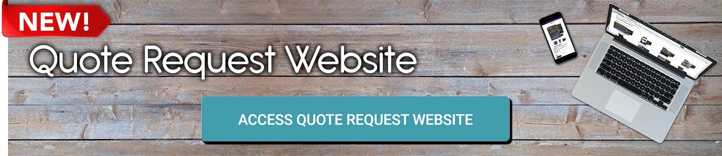 Quote Request Website