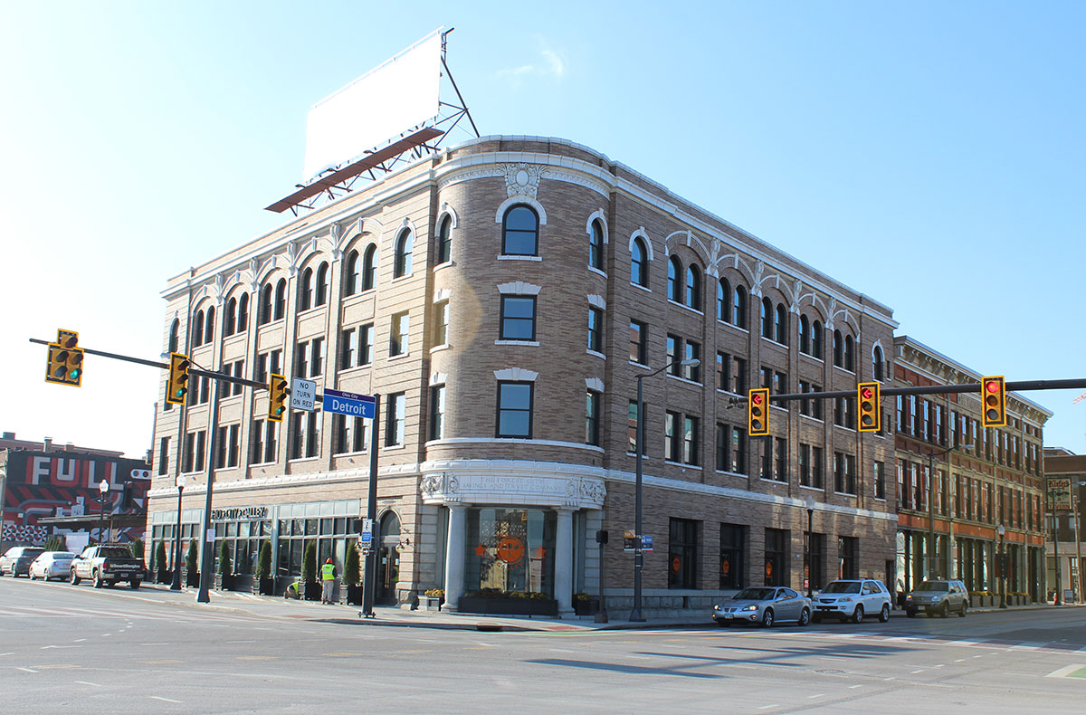 Forest City Bank & Seymour Block