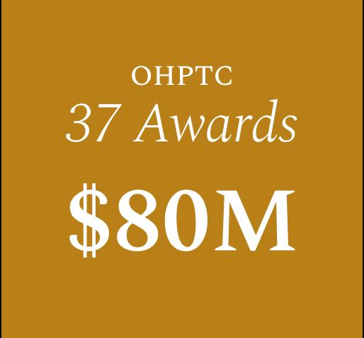 OHPTC 30 Awards