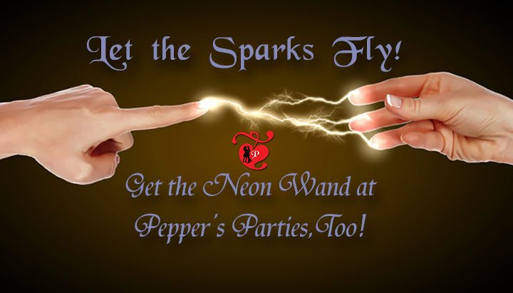 Neon Wand Kits, Tripper, and ElectroStim at Pepper's Parties