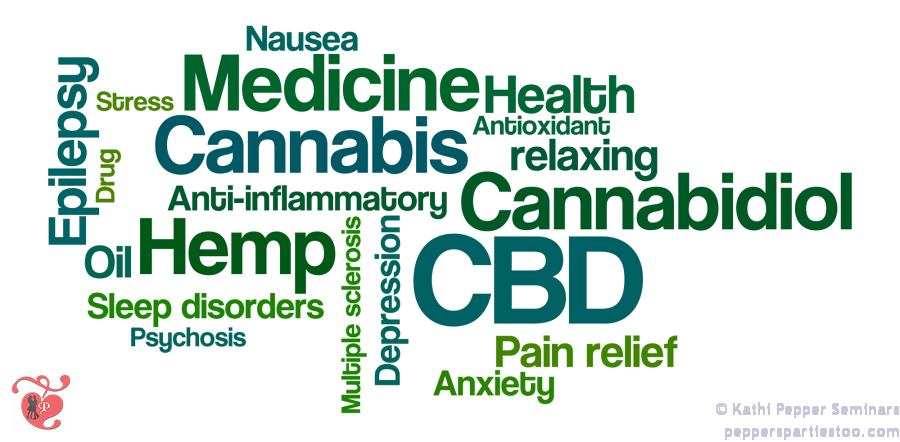 CBD Education at Pepper's Parties, Too!
