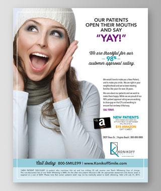 Konikoff Dentistry Flyer by BRITE