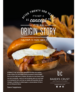 Baker's Crust Origin Story Advertisement by BRITE