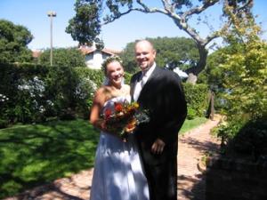 Bride at the Sausalito Woman's Club