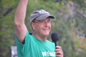 Pastor Mike Moran at 2017 Frog Jump