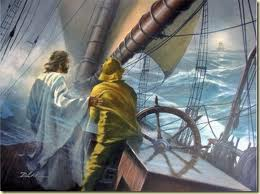 Jesus at the helm