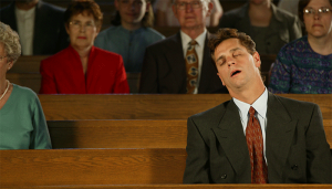 Asleep-In-Church