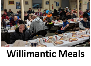 Willimantic Meals Ministry on First Sunday and Third Wednesday each month!