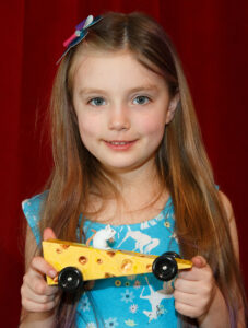 "Natallia K from Woodstock with her ""Cheese Mouse"""