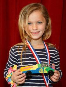 Open class runner up, Mia C of Woodstock