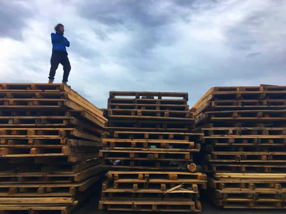 Salvaging to be sustainable in Castlemaine