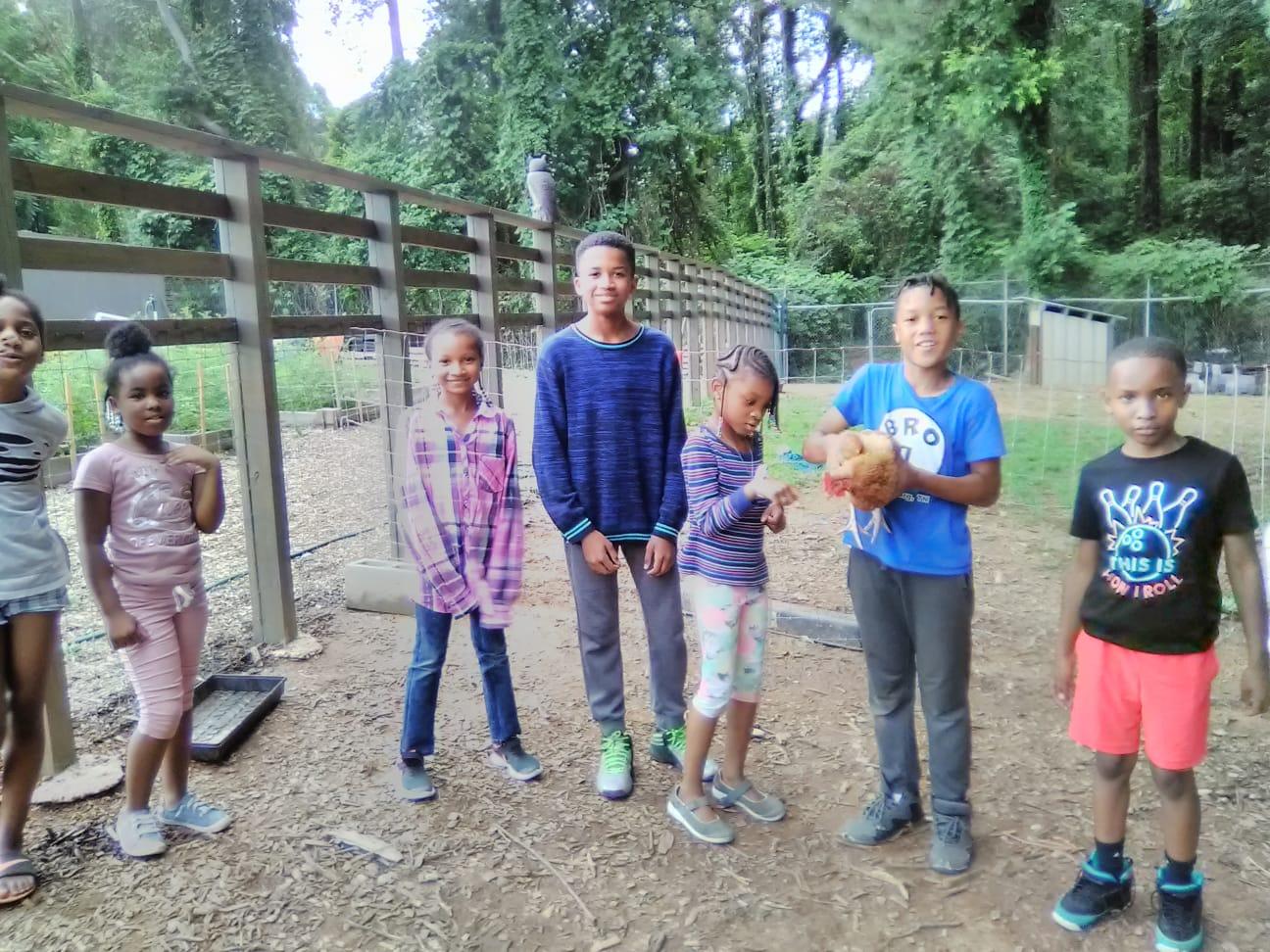 Afterschool Discovery Farm & Garden w/ Atiba