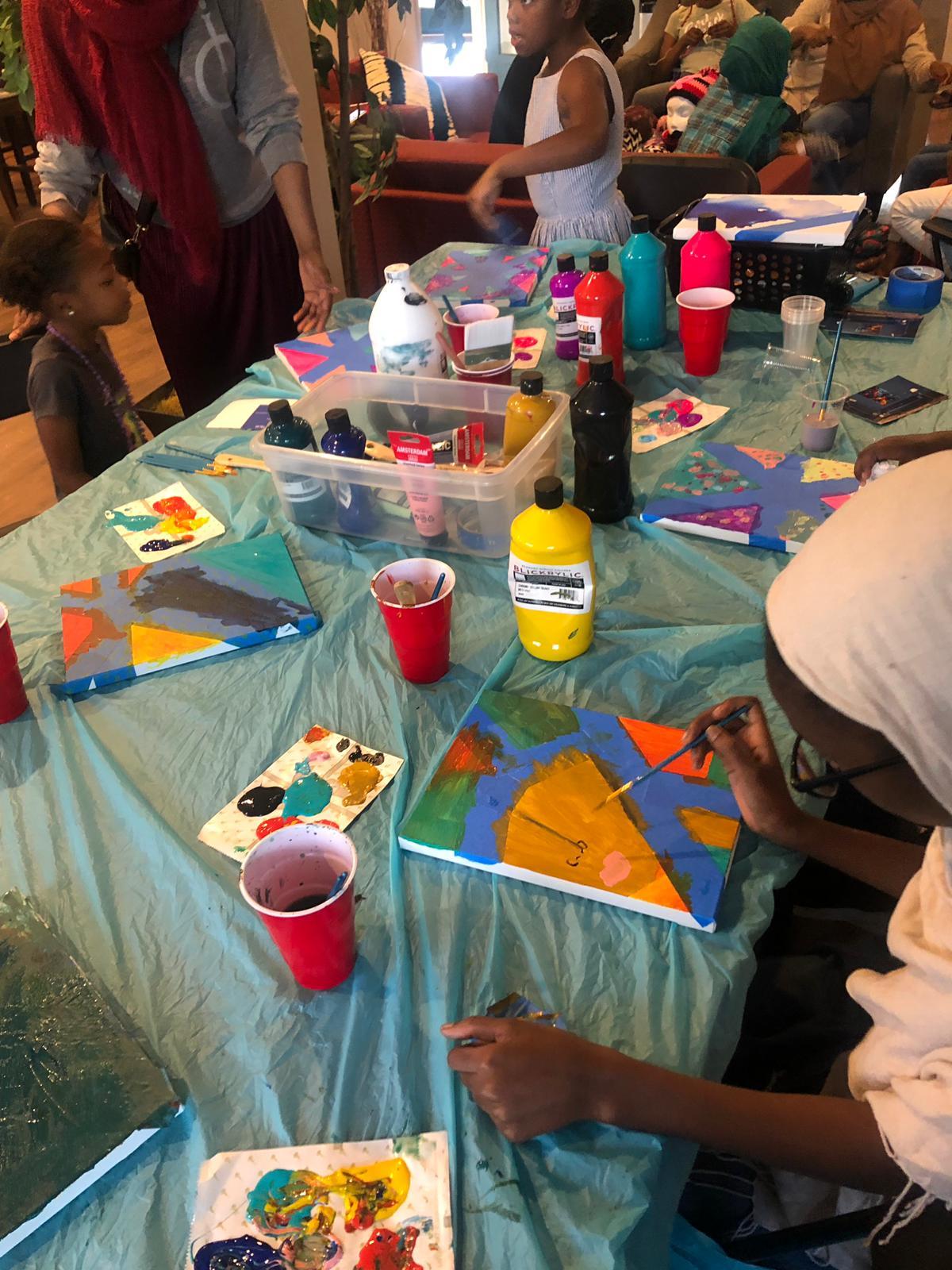 Afterschool Discovery Arts & Crafts w/ Kareema & Imani