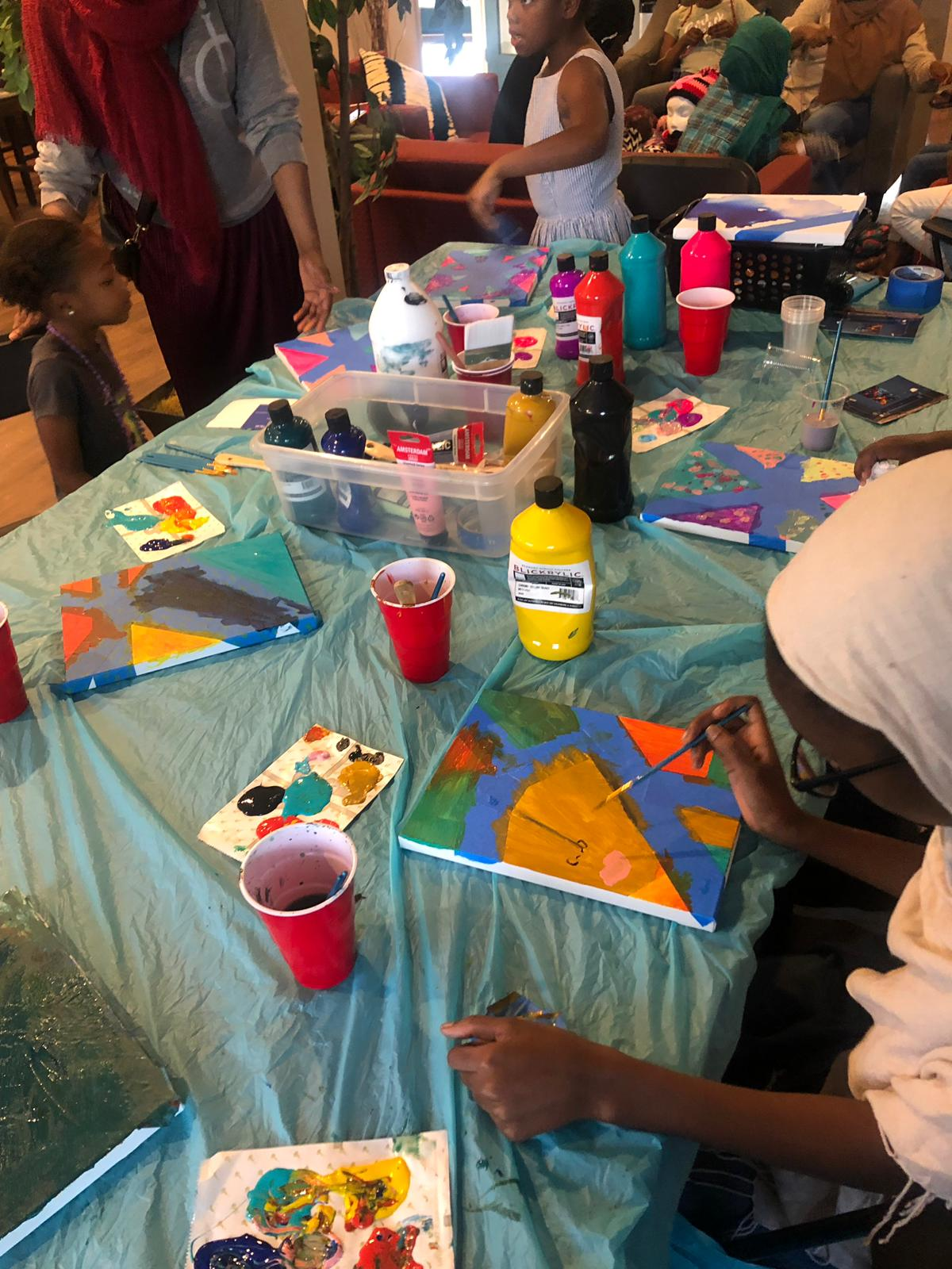 Afterschool Discovery Arts & Crafts w/ Kareema & Imani