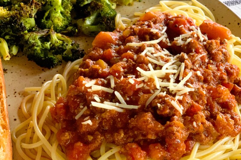 Sunday Offering: Tate Farms All Day Simmer Spaghetti Sauce
